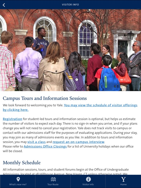 Yale Admissions Campus Tour-ipad-3