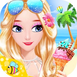 Princess Beach Hidden Object - Puzzle & Dress Up