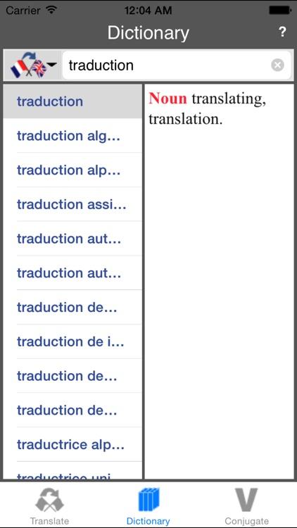 French-English Translator (Offline)