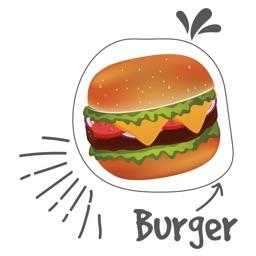 Animated Fast Food Sticker