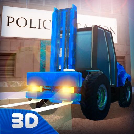 City Police Station Building Simulator 3D