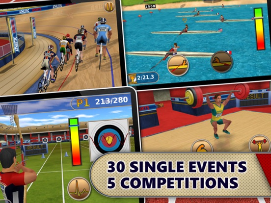 Athletics: Summer Sports screenshot 7