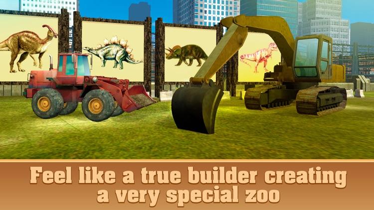 Dinosaur Park Building Simulator 3D