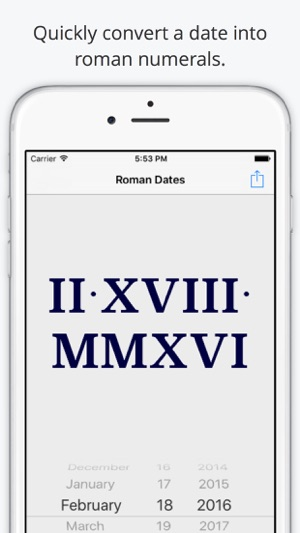 roman dates on the app store. Black Bedroom Furniture Sets. Home Design Ideas