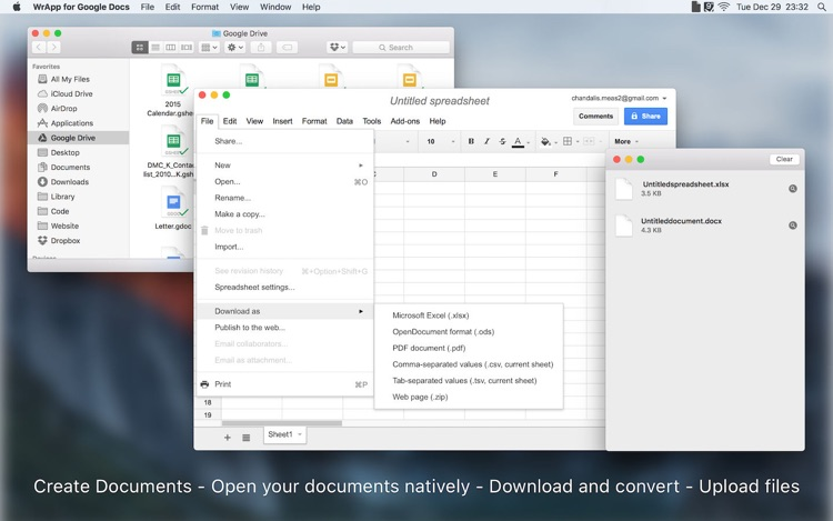 WrApp for Google Docs / macOS — AppAgg