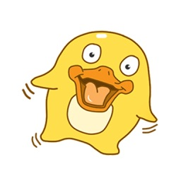 Duku Duck Sticker