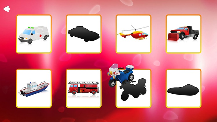 Trucks and Shadows Puzzle Game Lite screenshot-3
