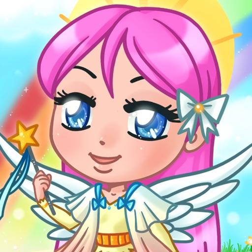 Чиби ангелочки - Аниме одевалки для девочек