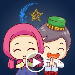 Chibi Girl Ramadan Sticker