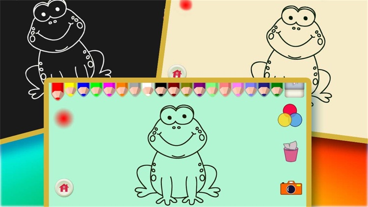 Pets Coloring Game For Children,Kids or Babies screenshot-3