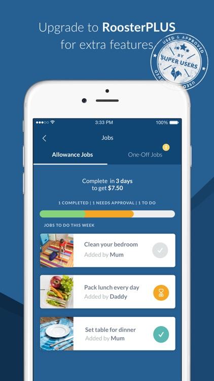 RoosterMoney Allowance Tracker screenshot-4