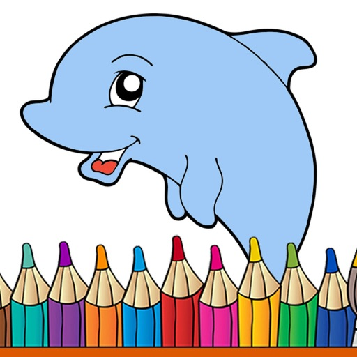 Animal Coloring Pages - Coloring book with animals