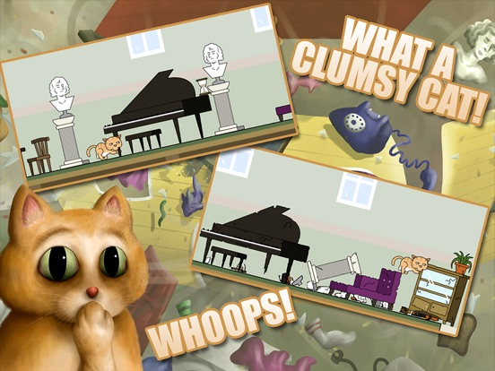 Игра Clumsy Cat