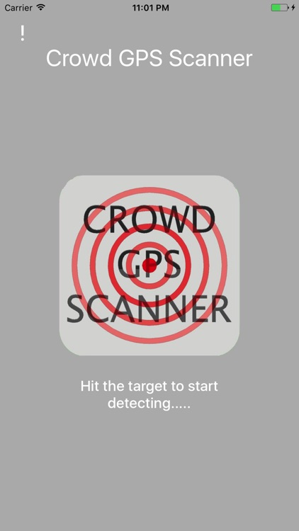 CROWD GPS SCANNER