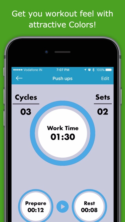 Seconds Interval Timer for TABATA & HIIT Training screenshot-3