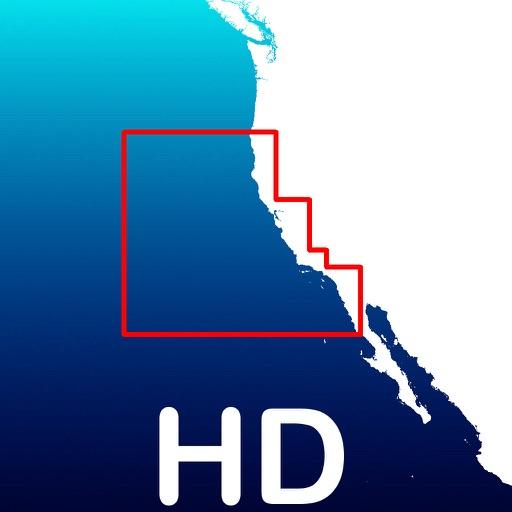 Aqua Map California - GPS Offline Nautical Charts
