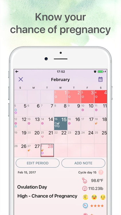 Period tracker Period calendar screenshot-1
