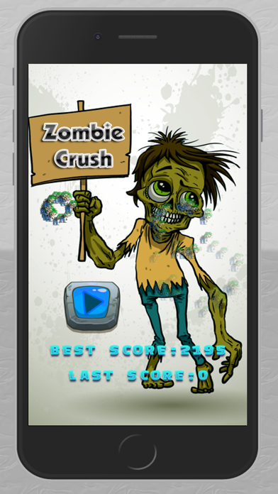Zombie Line Crush screenshot one