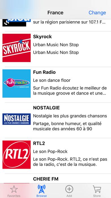 Live Internet Radio Tuner screenshot 1