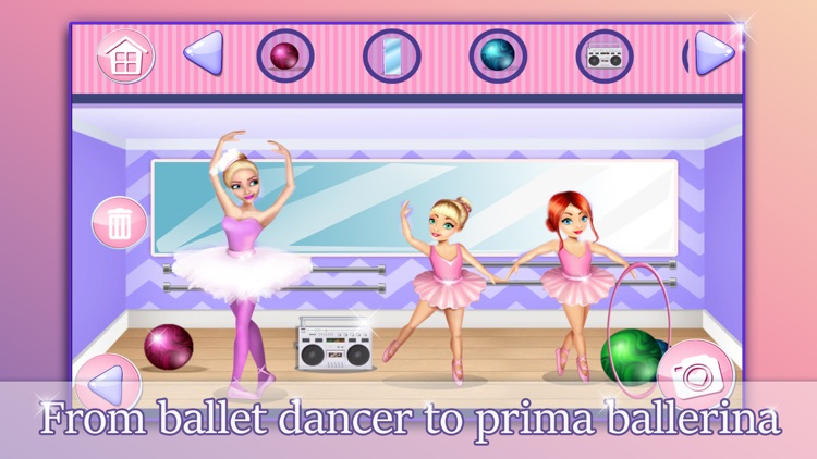 Ballerina Princess Doll House - Game.s for Girls screenshot-4