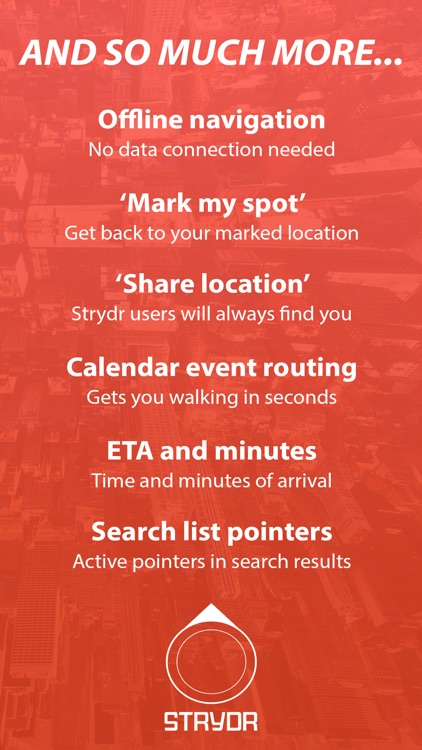 Strydr City Walking Navigation screenshot-4