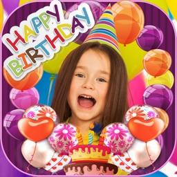 Happy Birthday Photo Frames & Stickers Editor