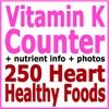Vitamin K Counter & Tracker for Healthy Food Diets