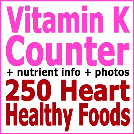 Vitamin K Counter plus 250 Heart Healthy Foods