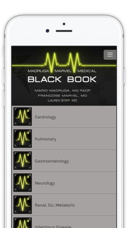 Madruga Marvel Medical Black Book Update