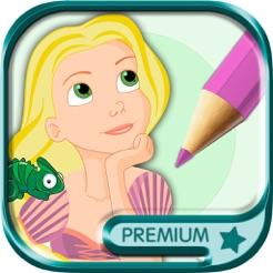 Prenses Rapunzel Boyama Kitabı Masal Pro App Storeda