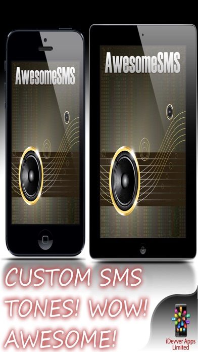 Awesome SMS - Amazing SMS Text & Ring Tones Screenshot