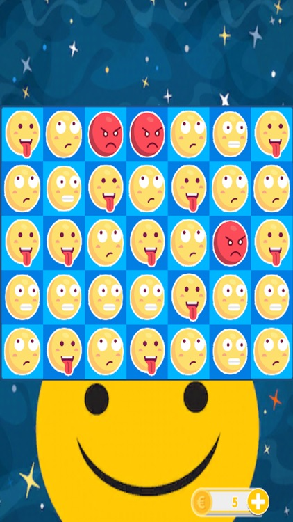 Smilies Match - Three Puzzle Game 2017