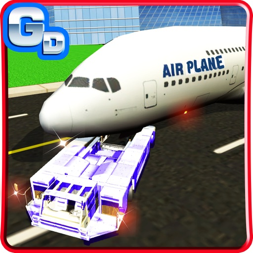 Airport Flight Crew Simulator & Driving 3D Game iOS App