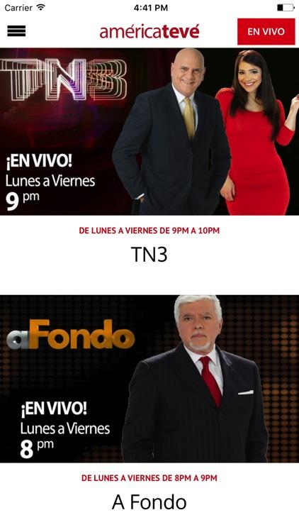 América TeVé! screenshot-3