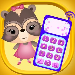 Candy Raccoon: Baby Phone