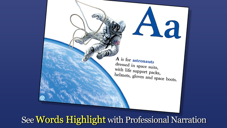 Alphabet of Space - Smithsonian Alphabet Books screenshot-1