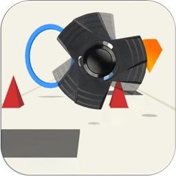 Fidget Spinner - Flappy 3d Finger Simulator