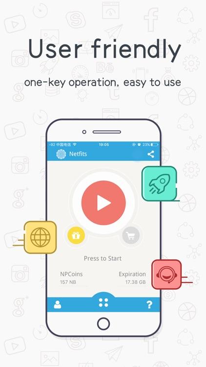 Netfits vpn - Hide your IP and online activities