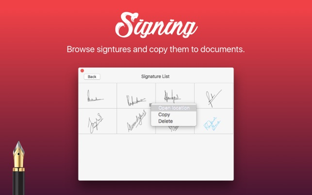 ‎Signing - Digital Signature on the Mac App Store