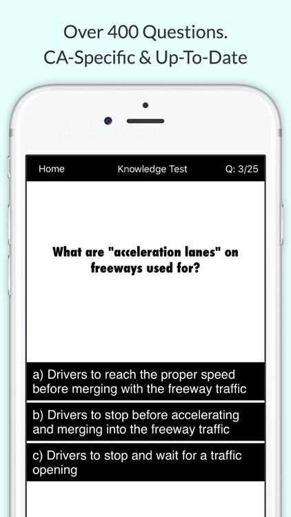 California DMV Permit Test – Driving Written Exam