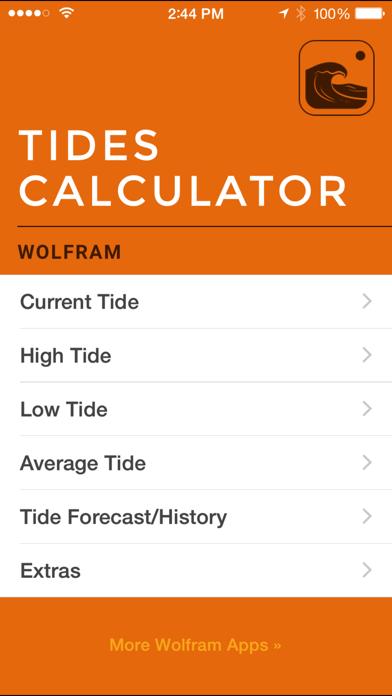 Wolfram Tides Calculatorのおすすめ画像1