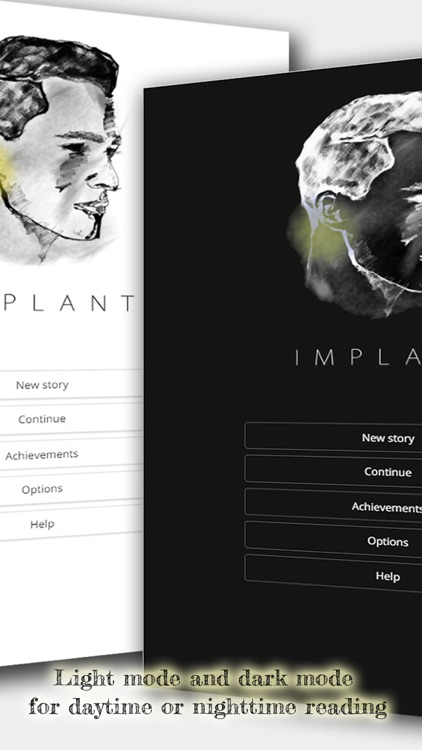 Implant - An Interactive Sci-Fi Novel screenshot-3