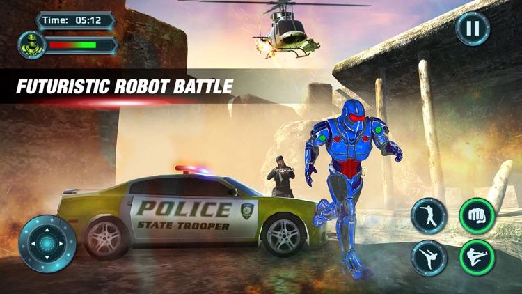 Futuristic Robot : Prison Escape Survival 2017