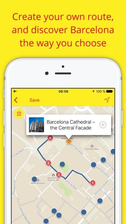 Barcelona - Travel audio guide & offline map Spain screenshot-3