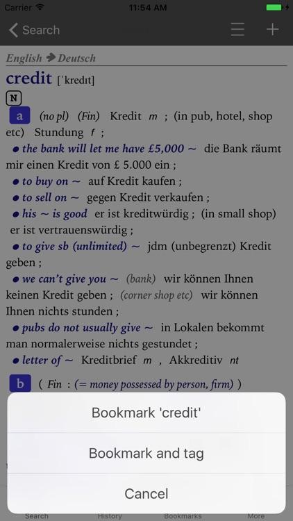 Collins German Dictionary - Complete & Unabridged