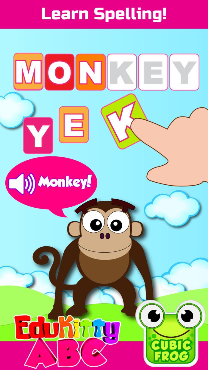 ABC Games for Kids-EduKittyABC Screenshot