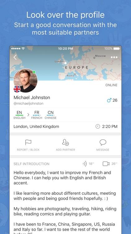 HelloTalk Language Exchange Learning App
