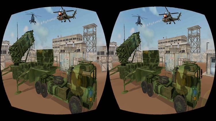 VR Anti Aircraft Patriot Gunner Strike Action Game