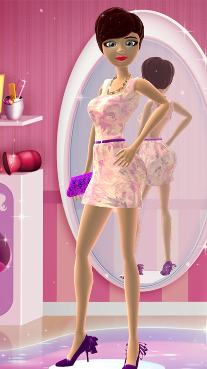 Dress Up and Hair Salon Game for Girls: Makeover