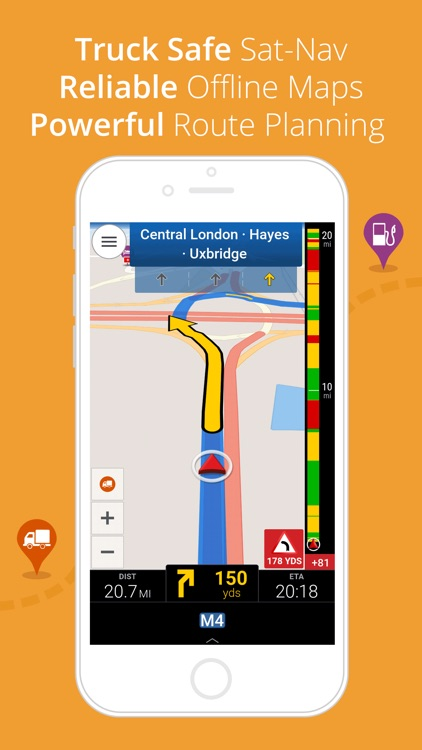 CoPilot Truck Europe - GPS Navigation for Truck